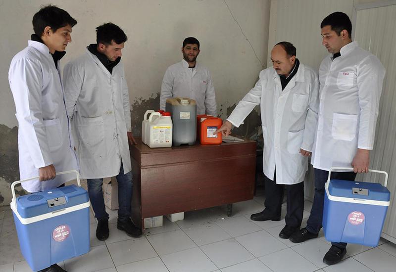 В Азербайджане проводится массовая вакцинация