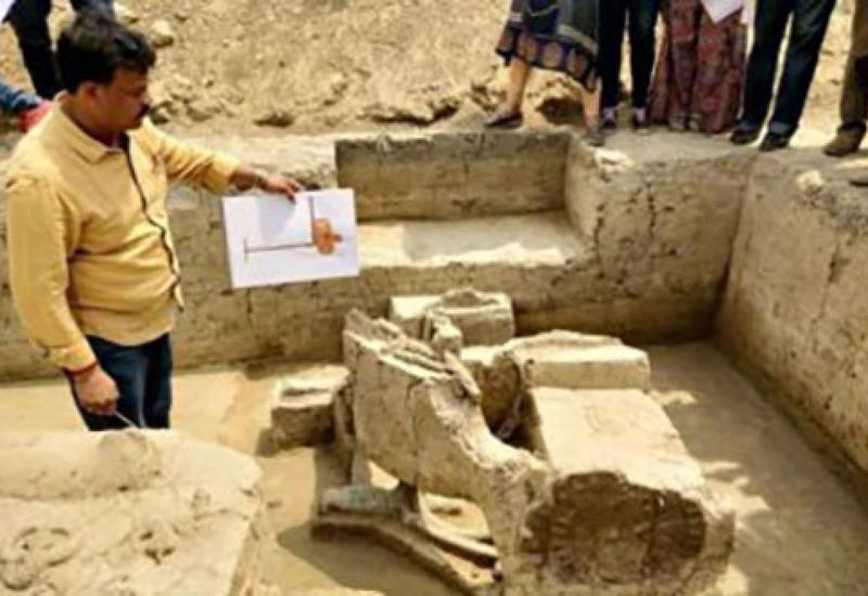 В Индии нашли колесницы возрастом не менее 4 тысяч лет