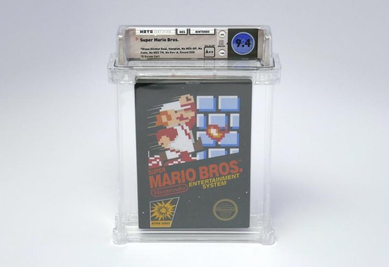 Картридж с игрой про Супер Марио продали за $100 тыс.