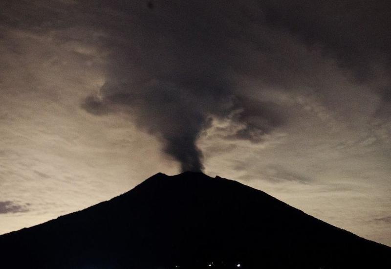 Şamaxıda yenidən vulkan püskürüb