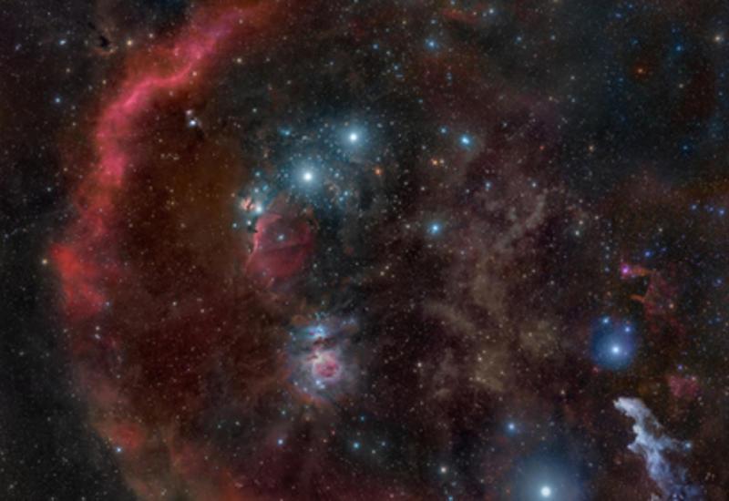Зафиксирована ярчайшая вспышка в галактике