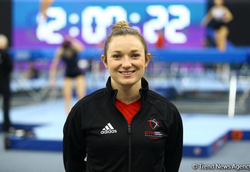 Олимпийская чемпионка: У всех гимнастов на Кубке мира в Баку одинаковые шансы на победу