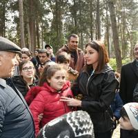 Первый вице-президент Мехрибан Алиева: Основная цель заключается в том, чтобы люди жили комфортно, счастливо, ведь в Азербайджане есть все для этого