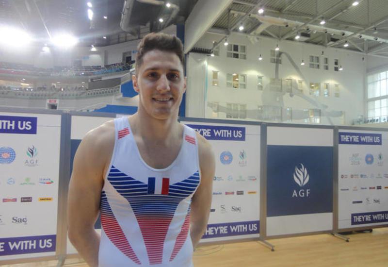 Французский спортсмен: На Кубке мира в Баку чувствуется атмосфера Олимпийских игр