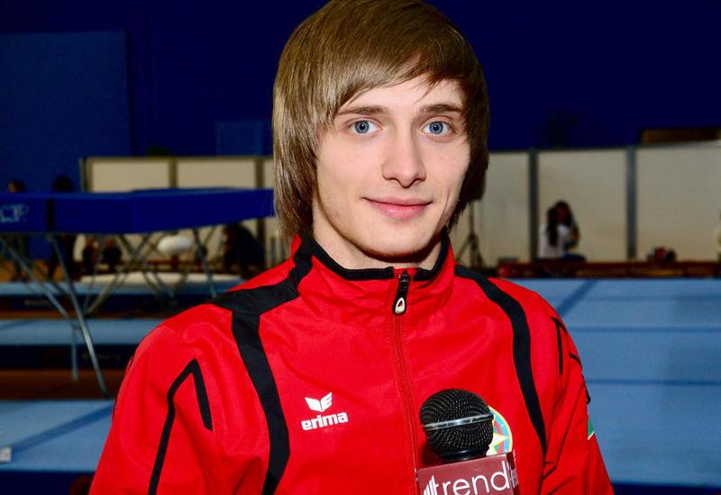 Азербайджанский гимнаст прошел в финал Кубка мира по прыжкам на батуте и тамблингу