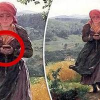 """На этой картине 19 века замечена очень странная деталь <span class=""""color_red"""">- ВИДЕО</span>"""