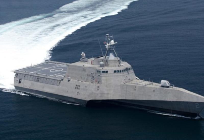 Флот США пополнил корабль-невидимка