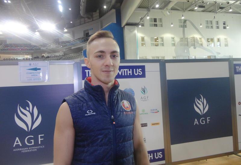 Белорусский гимнаст: Проведение соревнований в Национальной арене гимнастики - выше всяких похвал