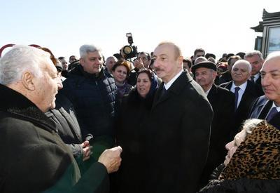 Президент Ильхам Алиев: Все семьи вынужденных переселенцев, проживающие в Сумгайыте, будут переселены в удобные квартиры