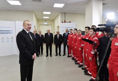 Президент Ильхам Алиев: Развитие ненефтяного сектора, диверсификация экономики, создание современных заводов, фабрик останутся приоритетом