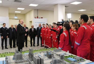Президент Ильхам Алиев: В этом году в Сумгайытском химико-промышленном парке планируется открытие нескольких предприятий