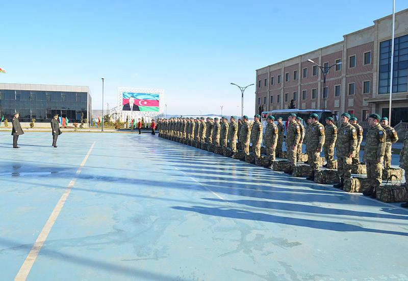"""Азербайджанские миротворцы вернулись из Афганистана <span class=""""color_red"""">- ФОТО</span>"""