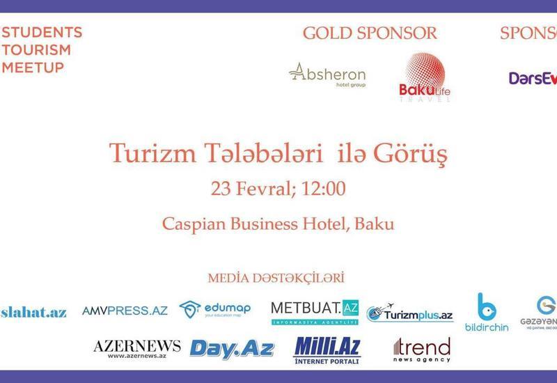 В Баку впервые будет представлен Tourism Students Meetup