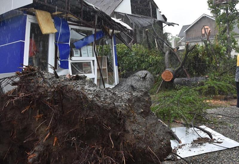 Ураган в Грузии нанес серьезный ущерб