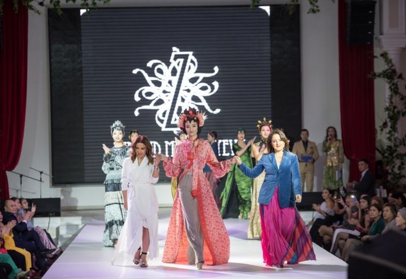Азербайджанский дизайнер приняла участие в фестивале моды в Казахстане