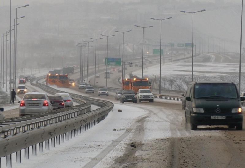 Госагентство о ситуации на трассах Азербайджана