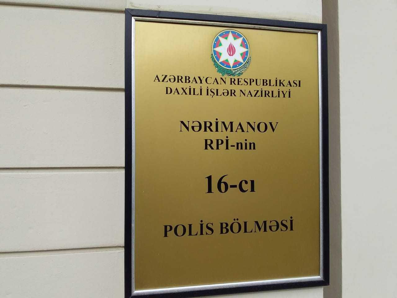 Спецоперация в Баку, задержан вооруженный мужчина