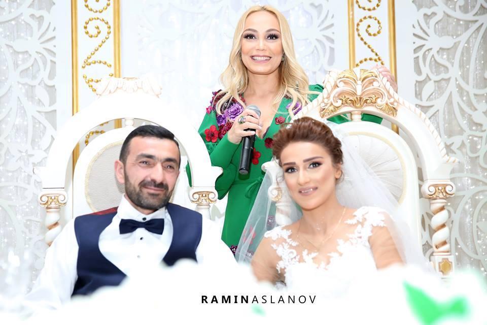 Очень трогательная свадьба в Баку