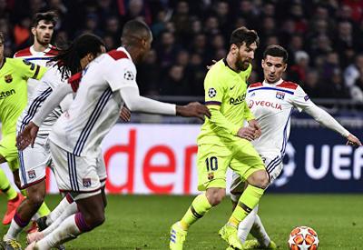 """«Барселона» и «Лион» сыграли вничью <span class=""""color_red"""">- ВИДЕО</span>"""