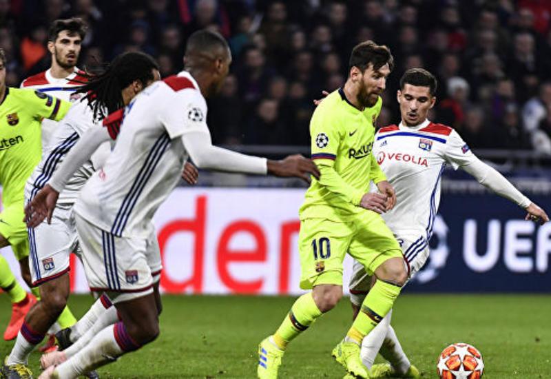 «Барселона» и «Лион» сыграли вничью