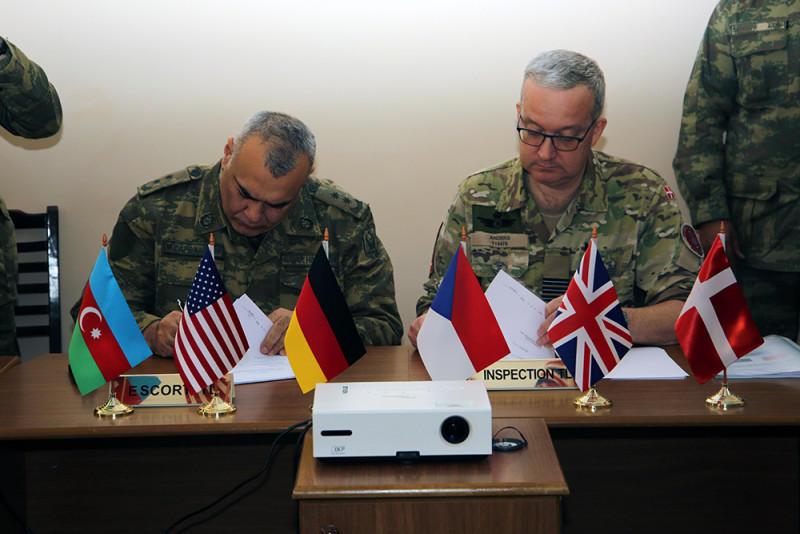 Международные эксперты проверили Отдельную Общевойсковую армию в Нахчыване