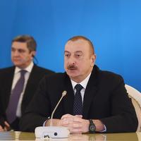 Президент Ильхам Алиев: Мы стабильно продвигались в направлении Южного газового коридора, и сегодня реализация данного проекта является уже реальностью