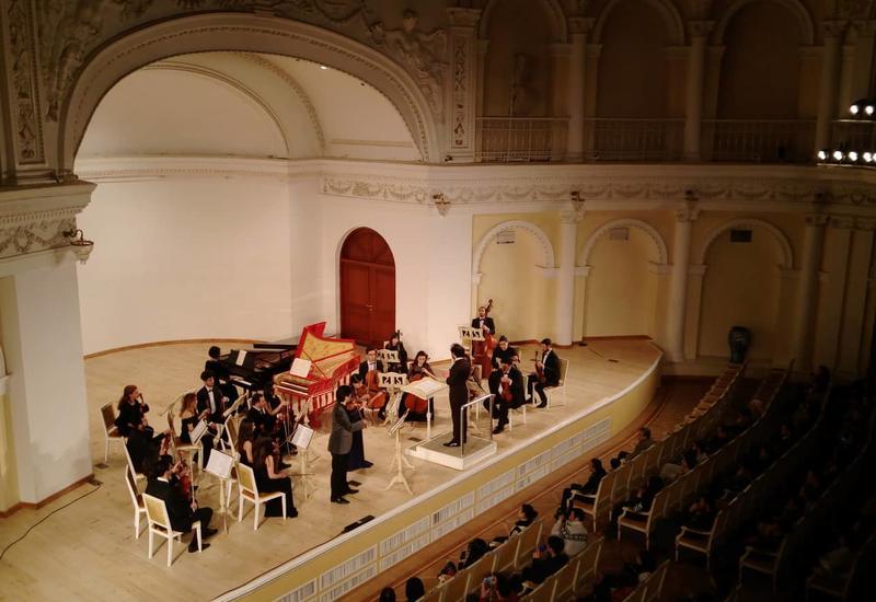 В Филармонии состоялся концерт Молодежного камерного оркестра БМА