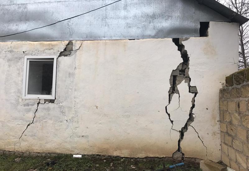 Стало известно, сколько домов пострадали в Шамахе от землетрясения