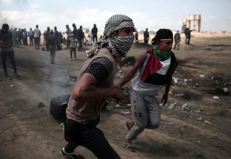 В Газе более 40 человек пострадали в столкновениях с израильской армией
