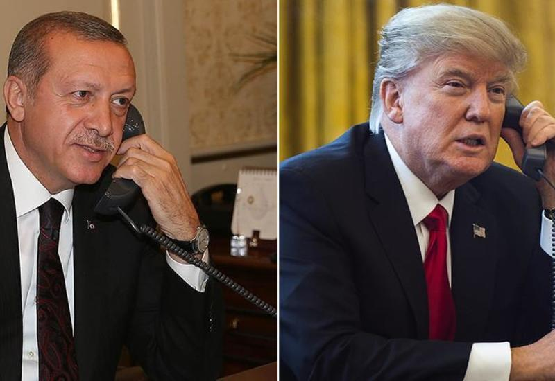Эрдоган и Трамп провели переговоры
