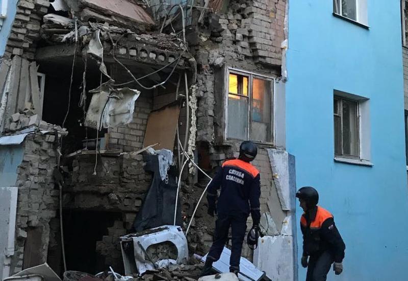 В центре Саратова обрушилась стена жилого дома