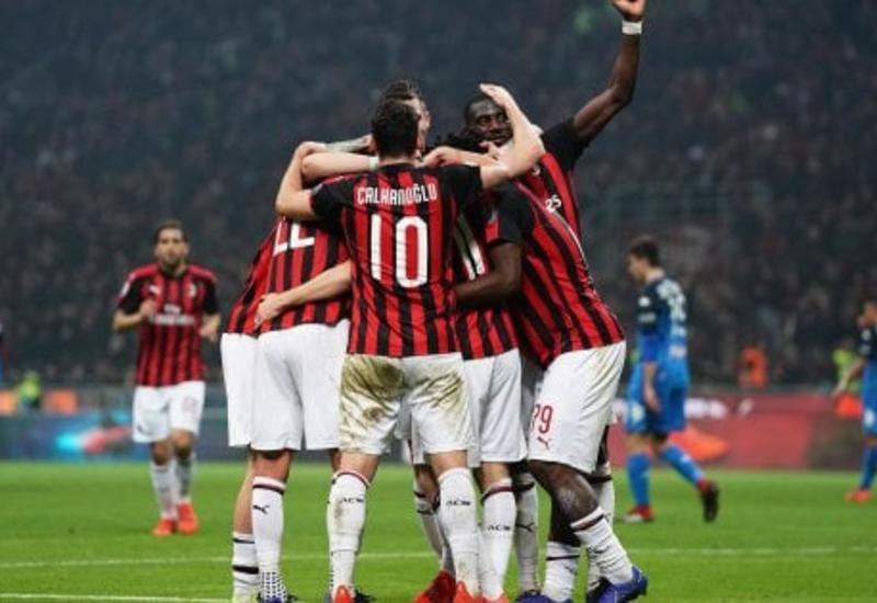 «Милан» разгромил «Эмполи»