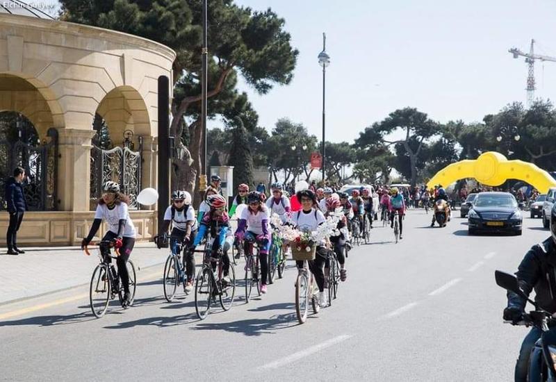 Женщины в Баку устроят массовый велопробег 8 марта
