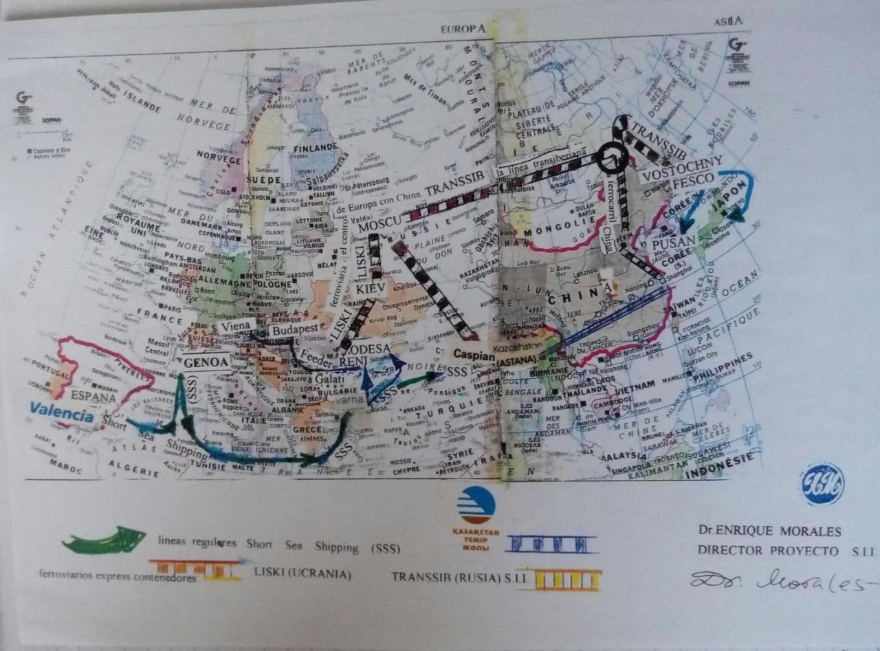 Международная транспортная компания намерена поставлять грузы по БТК