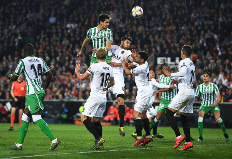 «Валенсия» вышла в финал Кубка Испании, обыграв «Бетис» в ответном матче