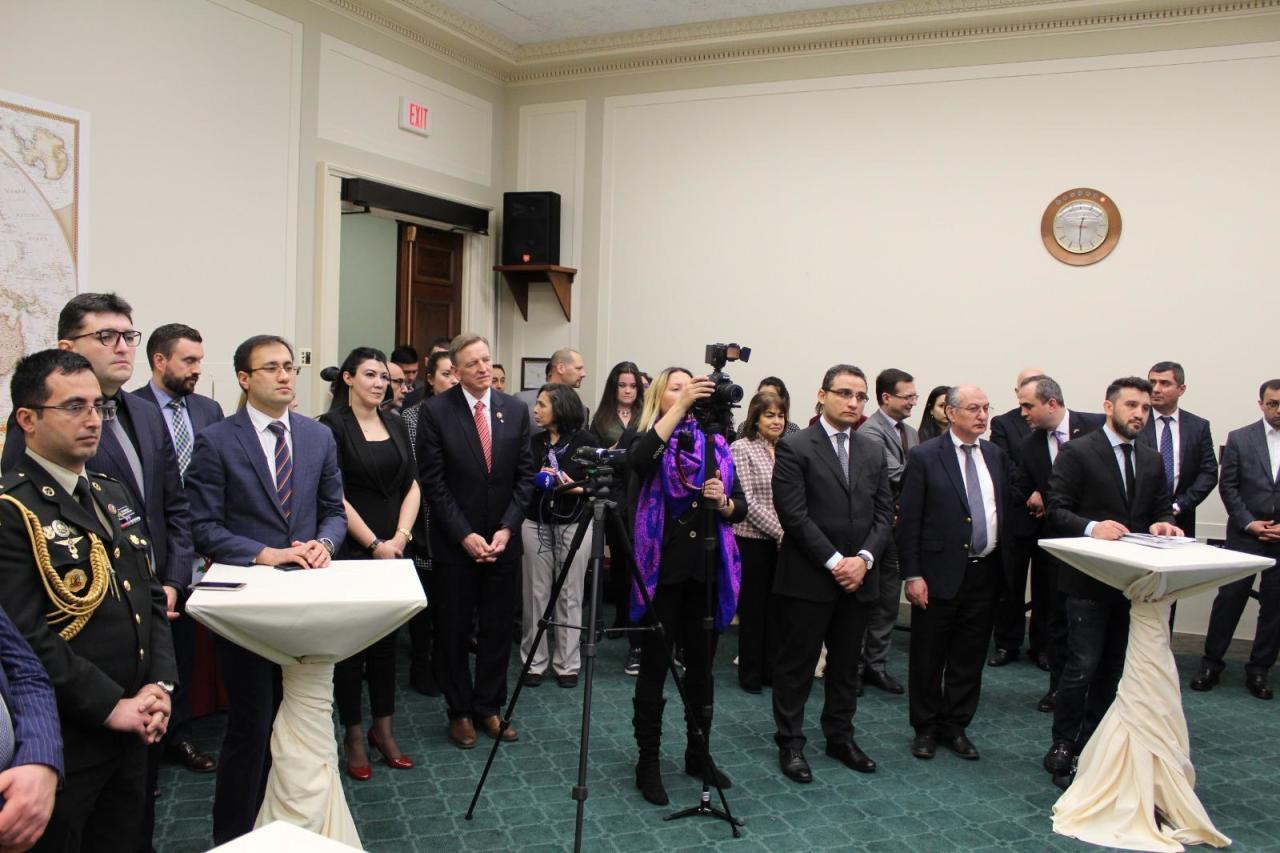 В Конгрессе США прошло мероприятие в связи с 27-й годовщиной Ходжалинского геноцида