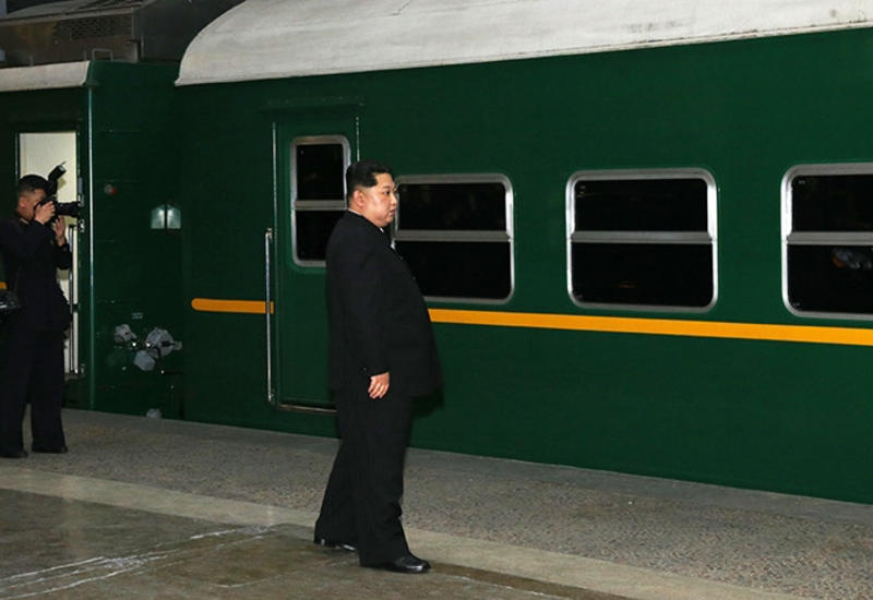 Спецпоезд Ким Чен Ына направился в Пхеньян