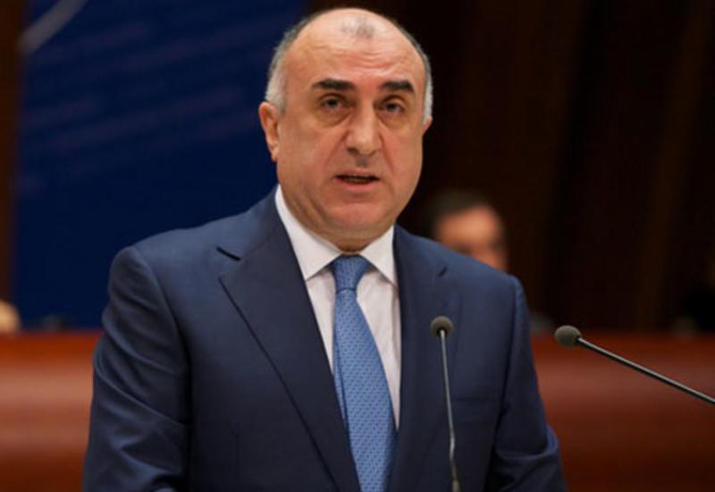 Эльмар Мамедъяров на переговорах с премьером Грузии
