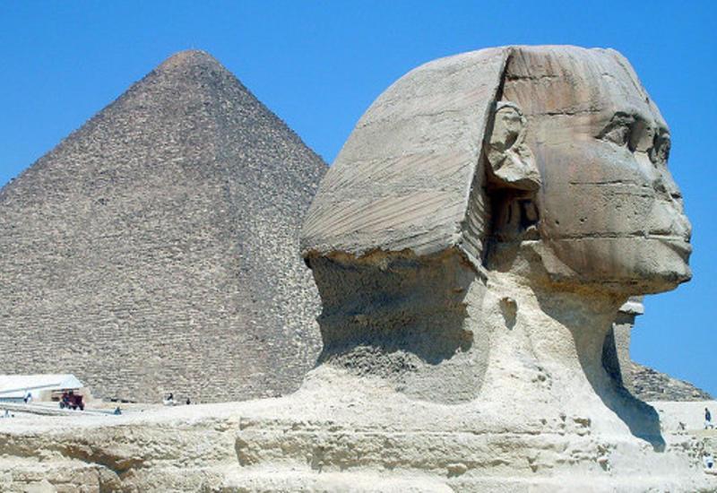 В Египте обнаружен необычный сфинкс возрастом более трех тысяч лет