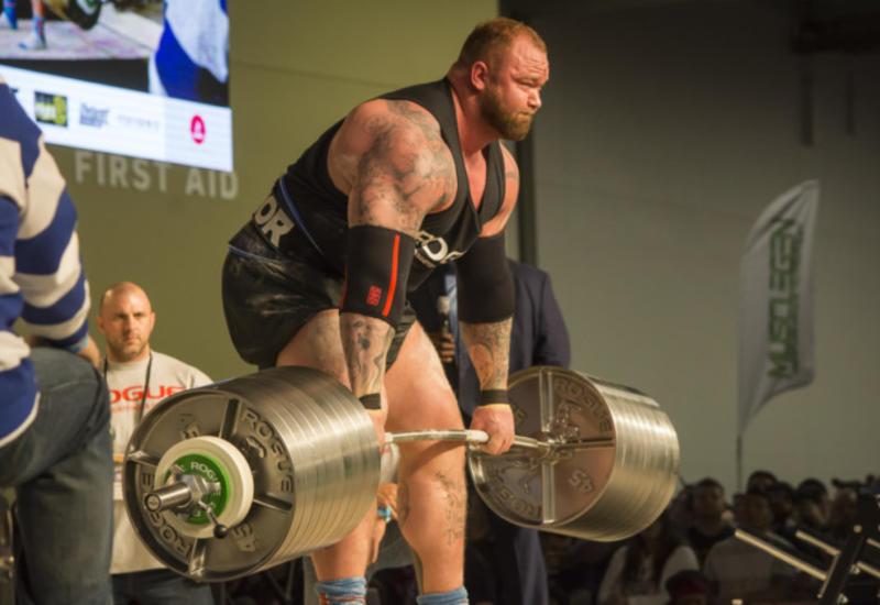 Гора из «Игры престолов» поднял 474 кг и установил мировой рекорд