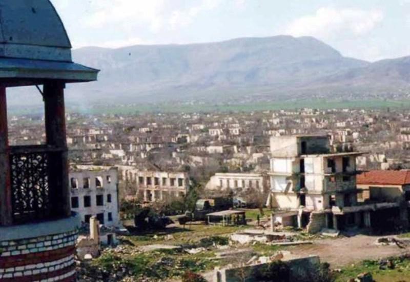 За годы армянской оккупации вандализму подверглись не только населенные объекты, но и дороги