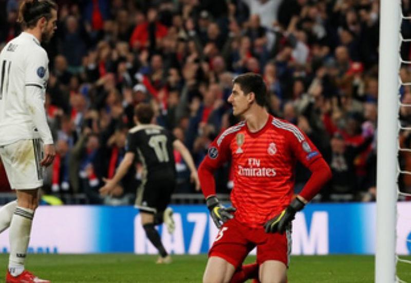 «Аякс» выбил «Реал» из Лиги чемпионов