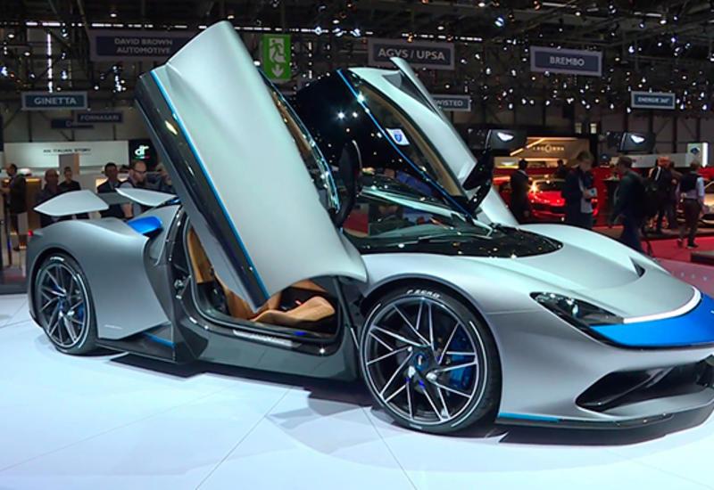Самый быстрый в мире автомобиль показали в Женеве