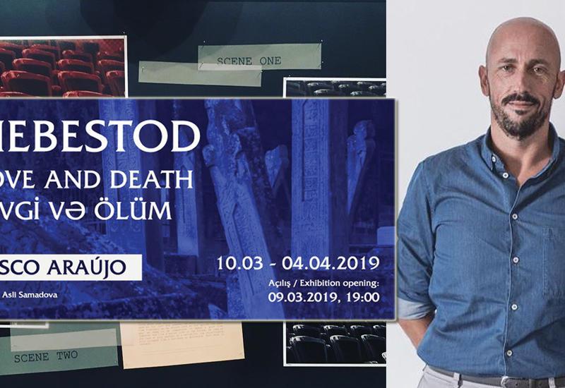 «Любовь и Смерть» португальского художника в Баку