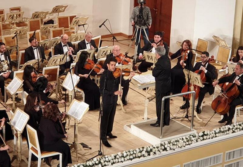 В Филармонии прошел великолепный концерт скрипача-виртуоза Эльвина Ганиева - ФОТО