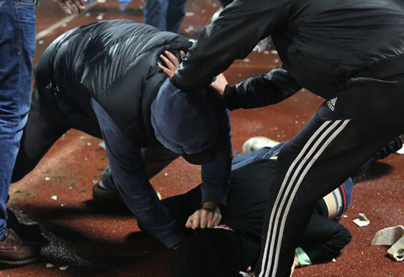 Массовая драка в Москве, есть раненые