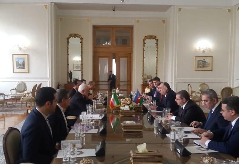 Мамедъяров на переговорах с главой МИД Ирана