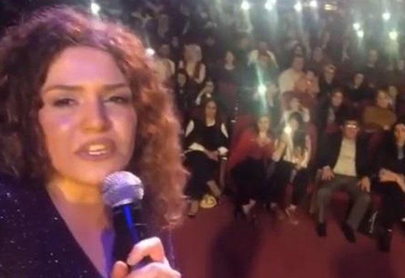 Çinarə Türkiyədə konsert verdi - VİDEO