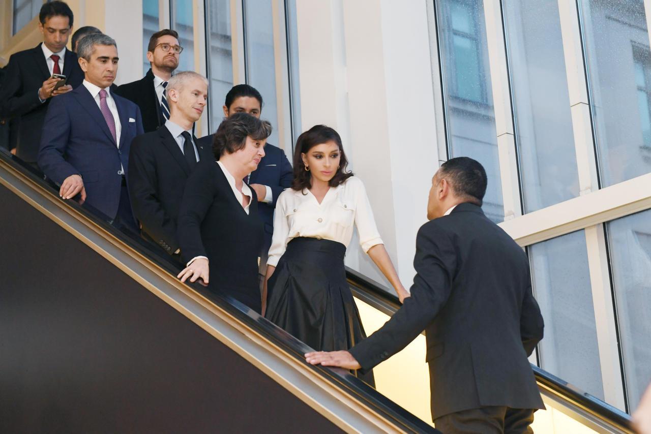 Первый вице-президент в сопровождении министра культуры Франции посетила му ...