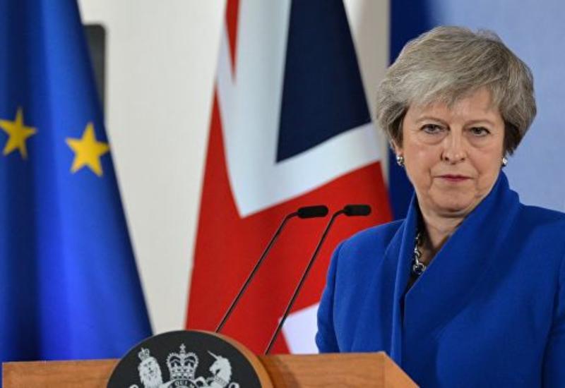 Мэй проголосует против выхода Британии из ЕС без соглашения